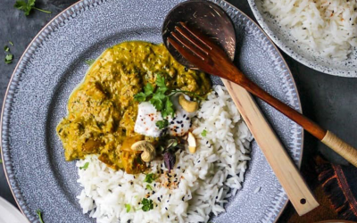 RICH CREAMY SPRING VEGETABLE CURRY