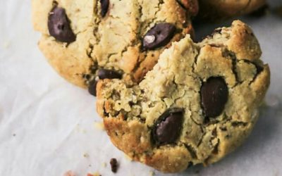 FLUFFY CHOC CHIP COOKIES