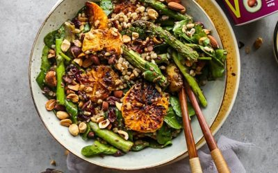 FRIED ORANGE & BARLEY SALAD