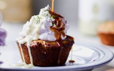 SPICED ORANGE SYRUP CUPCAKES
