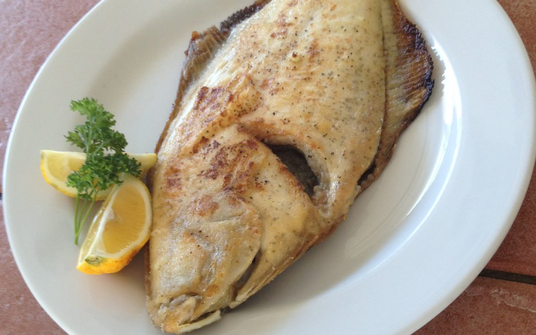 Cocavo Pan Fried Flounder with Creole Seasoning