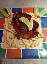 Chicken Schnitzel with Pork Crackle Crumb