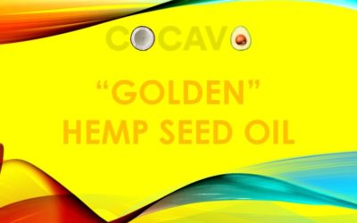 """GOLDEN"" HEMP SEED OIL"